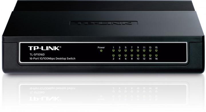 TP-LINK SWITCH 16-PORT 10/100 SF1016D