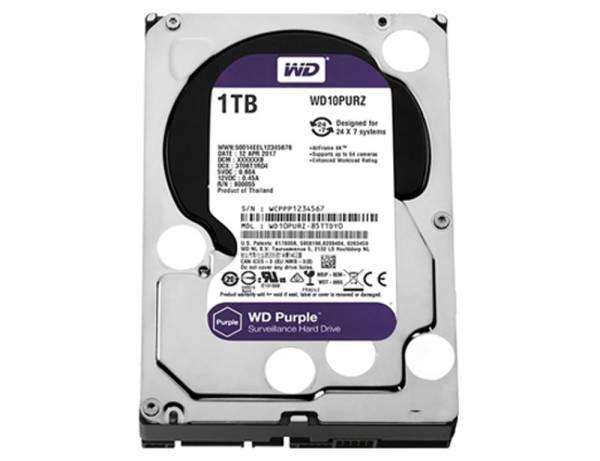 WESTERN DIGITAL HDD 1TB SATA III INTEL POWER PURPLE