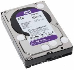 WESTERN DIGITAL  HDD INTERNAL 3.5'' 6TB PURPLE