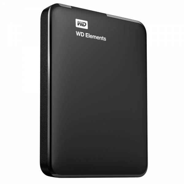 WESTERN DIGITAL HDD EXTERNAL 1TB (ELEMENTS) BLACK