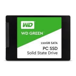 WESTERN DIGITAL SSD HDD 3D 120GB  (GREEN)