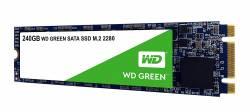 WESTERN DIGITAL SSD HDD M.2 2280 240GB  (GREEN)
