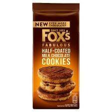Foxs Half-Coated Chunkie Cookie  175g