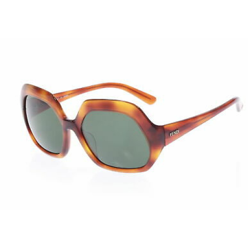 Fendi FS5124 214 130 Brown Square Sunglasses