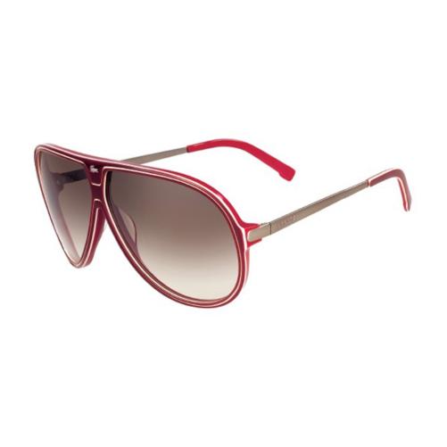 Lacoste L632S 603 Women Sunglasses, Burgundy Red