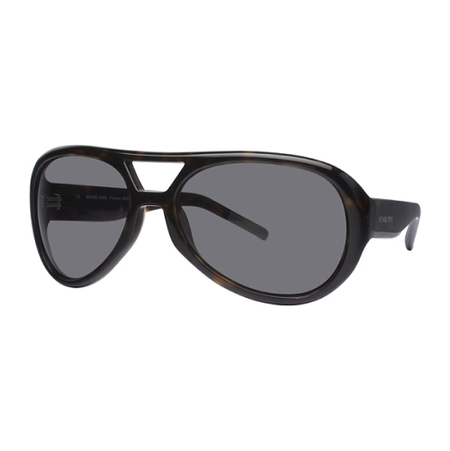 Michael Kors MKS638 001 Positano Aviator Sunglasses, Black
