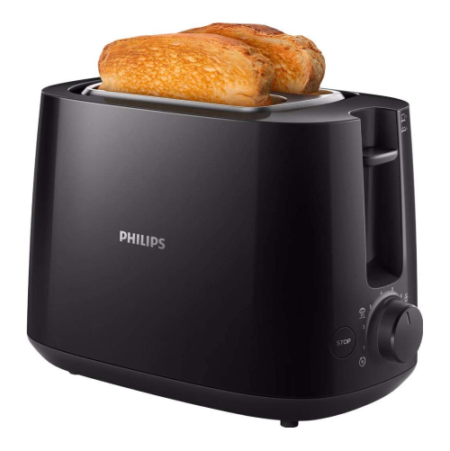 Philips HD2581/90 2-Slot Toaster Black