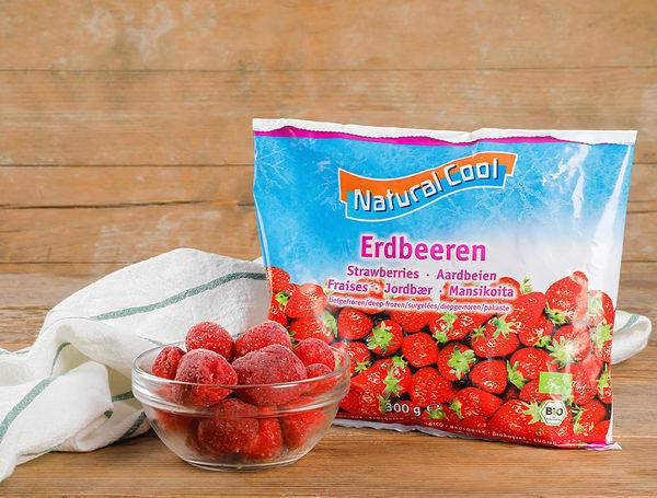 Natural Cool Bio Frozen Strawberries 300g