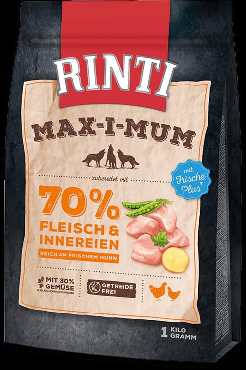 Rinti Max-i-Mum Chicken Dog food - 1kg