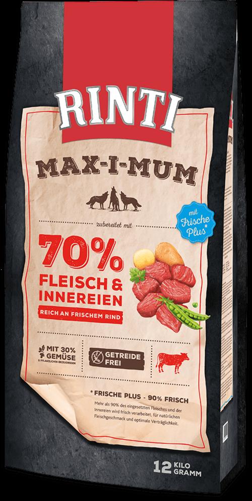 Rinti Max-i-Mumbeef Bag Dog food - 12kg