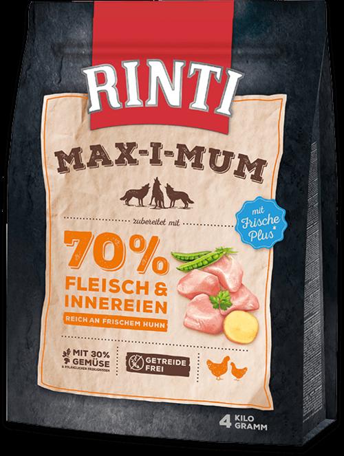 Rinti Max-i-Mum Chicken Bag Dog food - 4kg