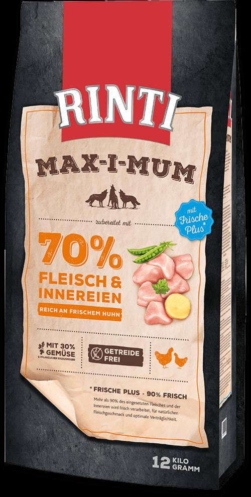Rinti Max-i-Mum Chicken Dog food - 12kg