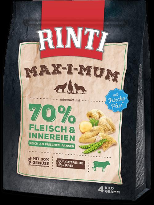 Rinti Max-i-Mum Rumen Bag Dog food - 4kg