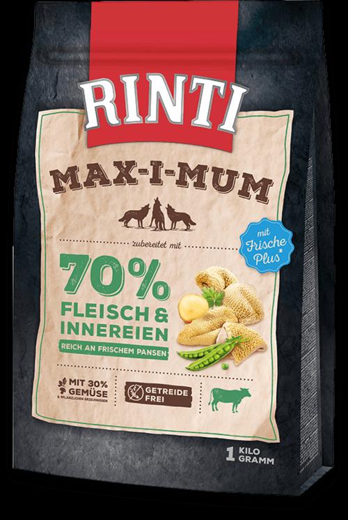 Rinti Max-i-Mum Rumen Dog food - 1kg