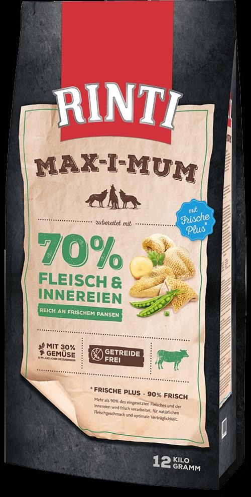 Rinti Max-i-Mum Rumen Bag Dog food - 12kg
