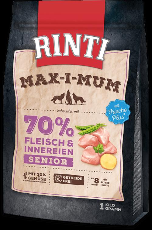 Rinti Max-i-Mum Senior Chicken Dog food - 1kg