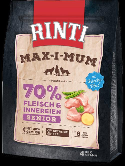 Rinti Max-i-Mum Senior Chicken Dog food - 4kg