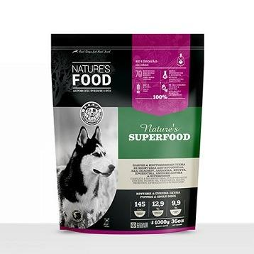 FROZEN PATTIES NATURE'S SUPERFOOD Dog food - 1kg