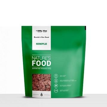 NATURE'S SIMPLE BREEDER'S RAW BOOST Dog food - 1kg