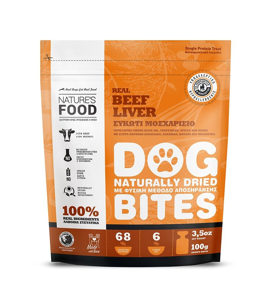 DEHYDRATED BEEF LIVER Dog food - 100g