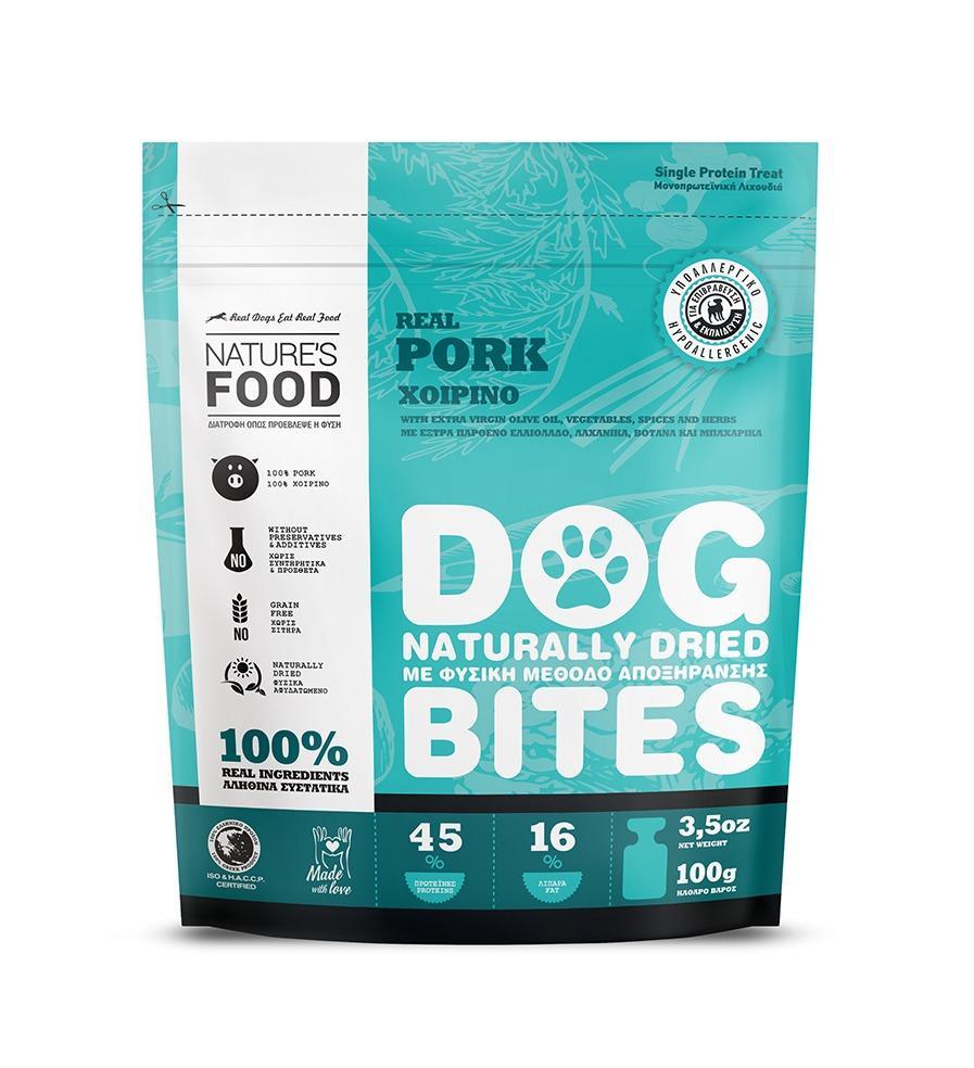 DEHYDRATED PORK Dog food - 100g