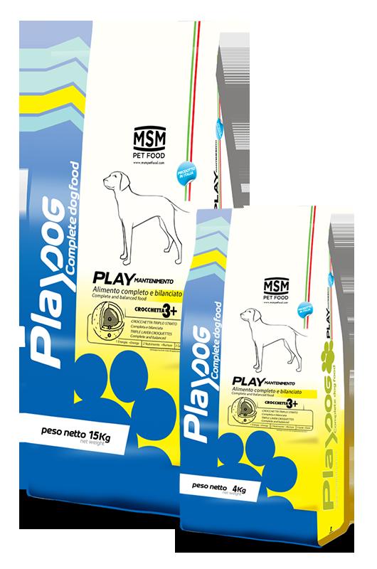 PLAY DOG FUTURE Dog food - 4kg