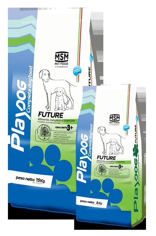 PLAY DOG FUTURE food - 4kg