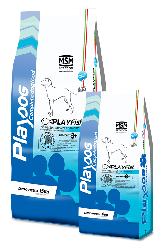PLAY DOG PLAY FISH food - 4kg