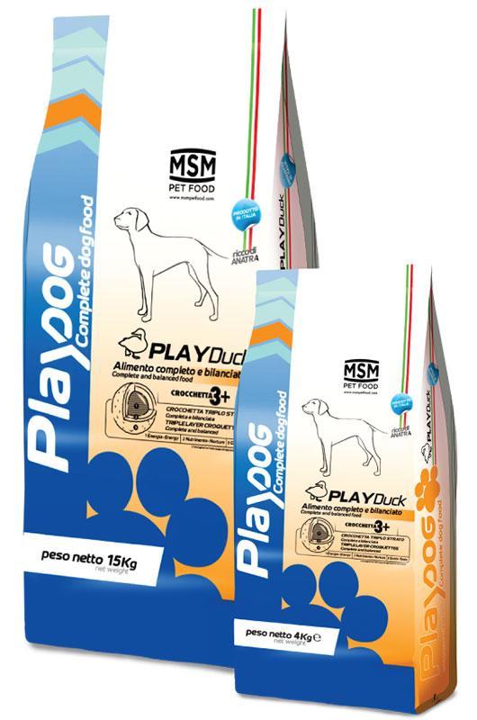PLAY DOG PLAY DUCK food - 4kg