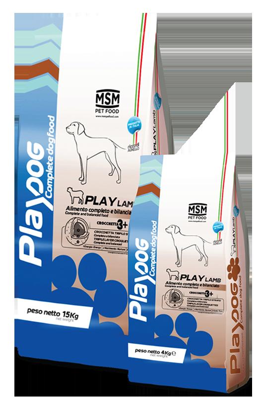 PLAY DOG PLAY LAMB food - 4kg