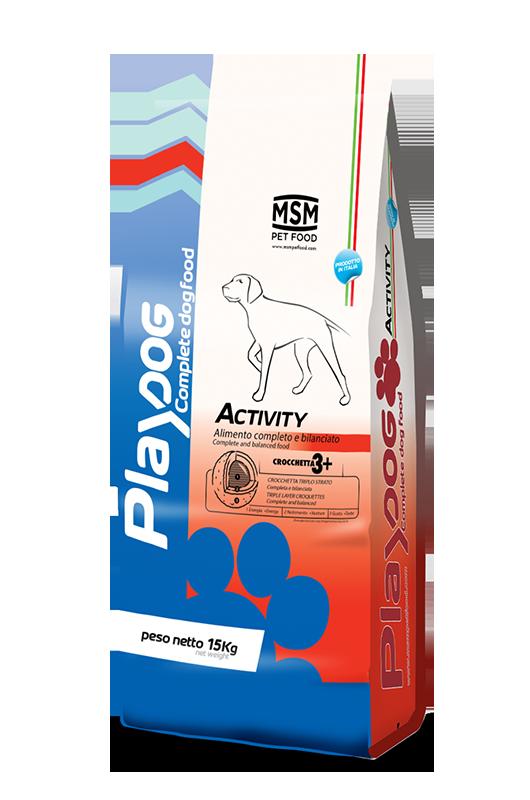 PLAY DOG ACTIVITY food - 15kg