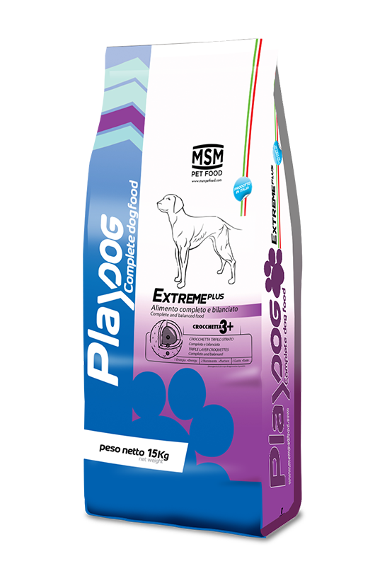 PLAY DOG EXTREME PLUS food - 15kg