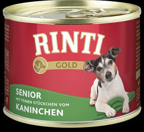 Rinti Gold Senior - Rabbit Can Dog food - 185g