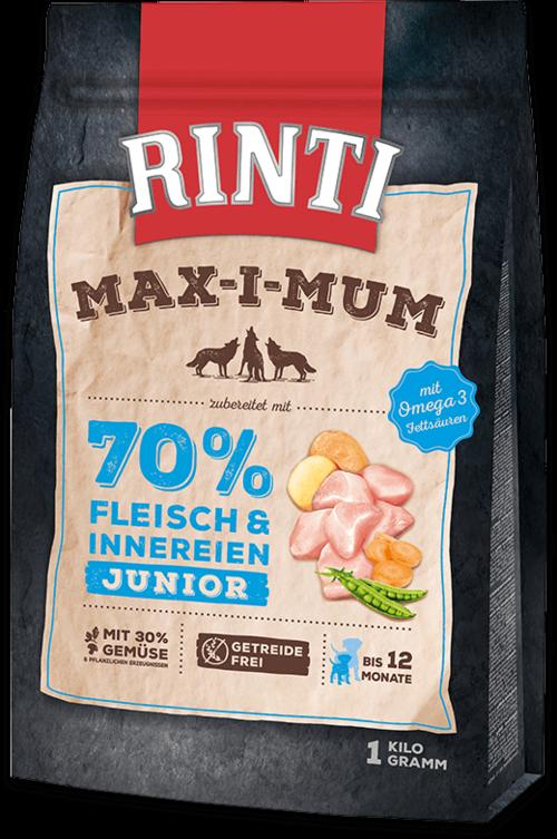Rinti Max-i-Mum Chicken Junior Dog food - 1kg