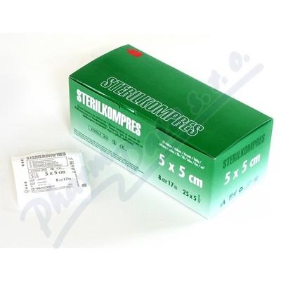 STERILCOMPRESS Gauze compression 5x5cm 25x5pcs