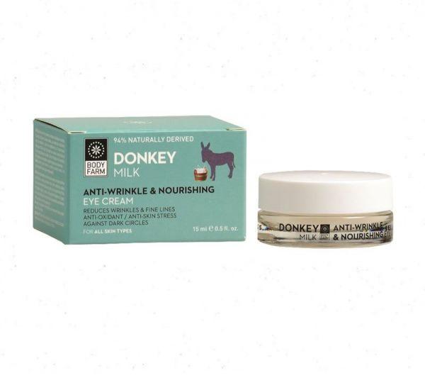 Bodyfarm Anti-Wrinkle & Nourishing Eye Cream Donkey Milk 15ml