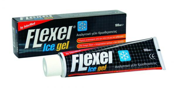 Intermed Flexel Ice Gel Analgesic Cryotherapy Gel, 100 ml