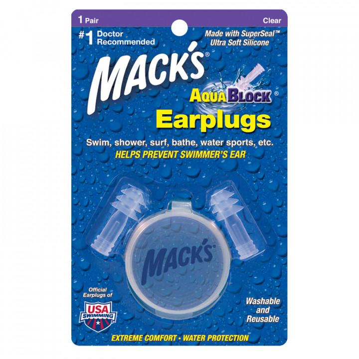 Macks Aqua block ear plugs