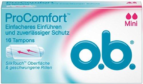 Ob Pro Comfort Mini 16 Tampons