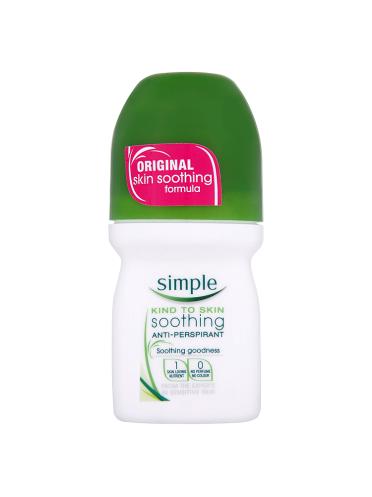Simple Antiperspirant Roll-on 50ml