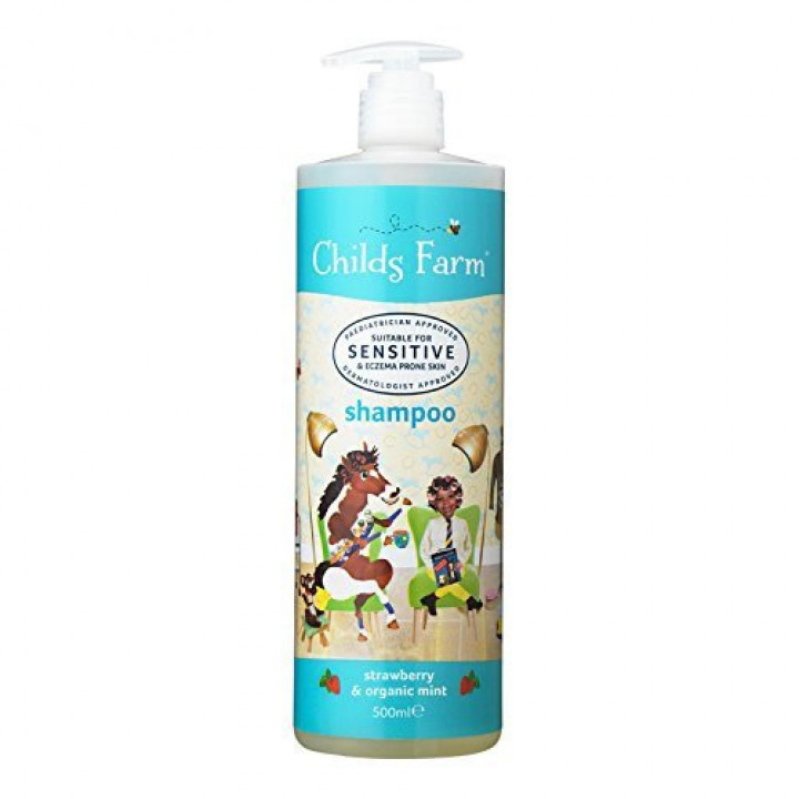 Shampoo 500ml  Strawberry & Organic mint (Childs Farm)