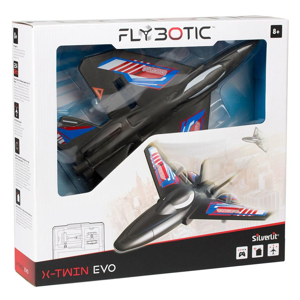 SILVERLIT X-TWIN AIRPLANE R/C ASS ASS 7530-85736