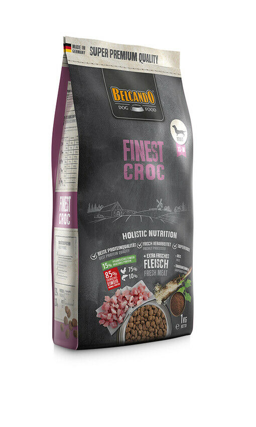 DOG FOOD BERCANDO - FINEST CROC 1KG
