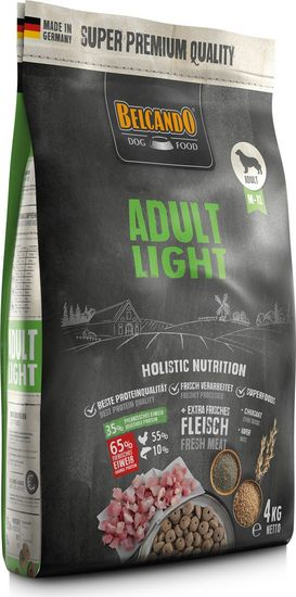 DOG FOOR BERCANDO - ADULT LIGHT 4KG