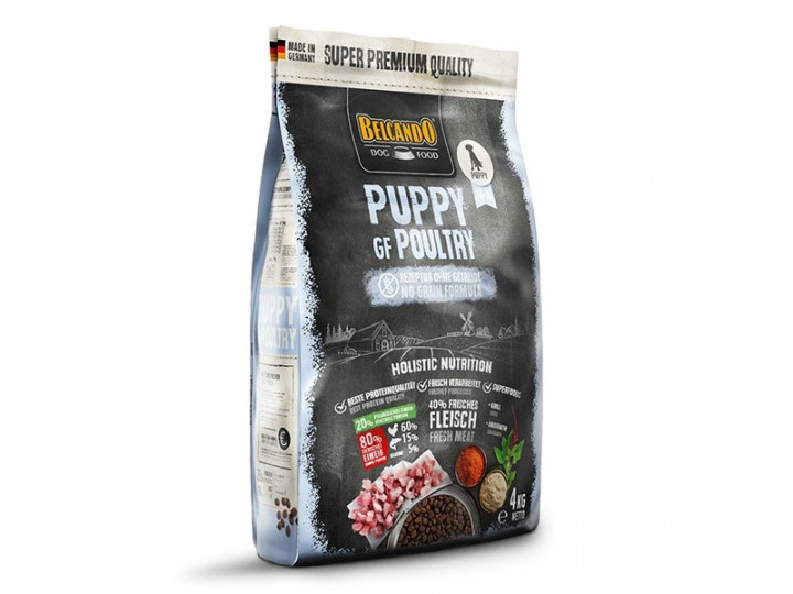 DOG FOOD BERCANDO - PUPPY GF POULTRY 4KG