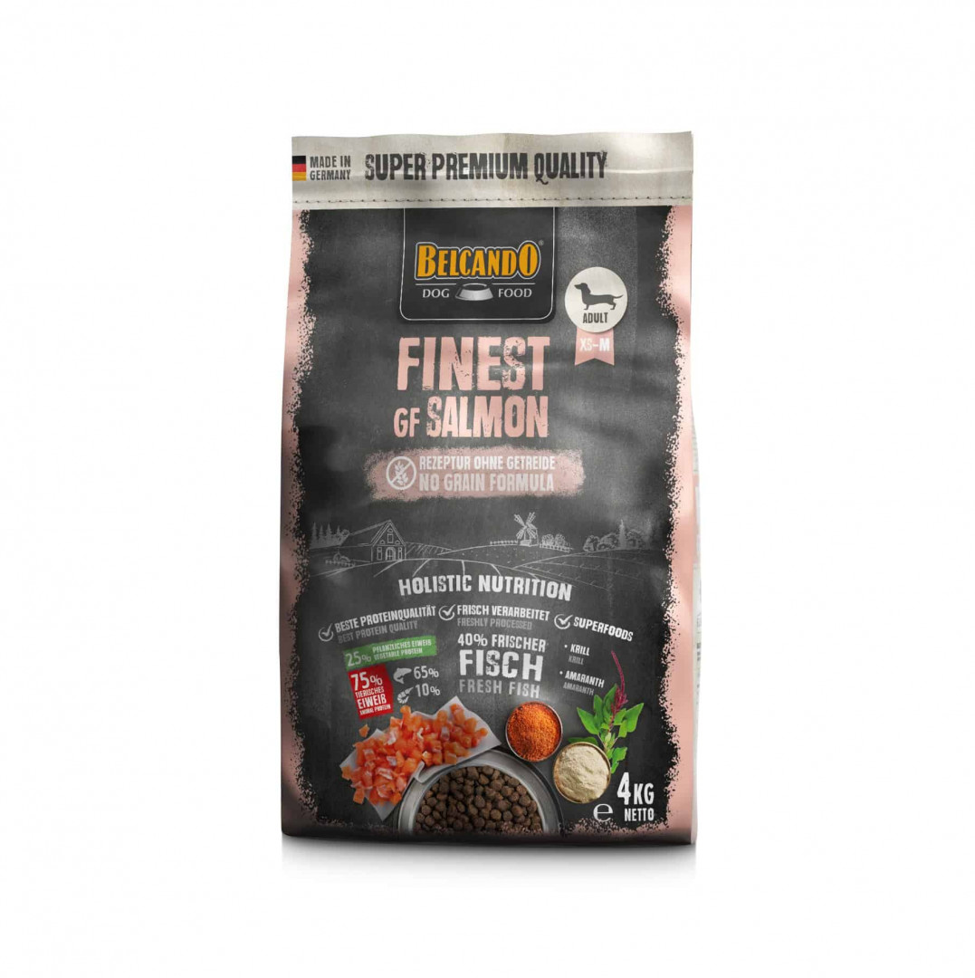 DOG FOOD BERCANDO - FINEST GF SALMON 4KG