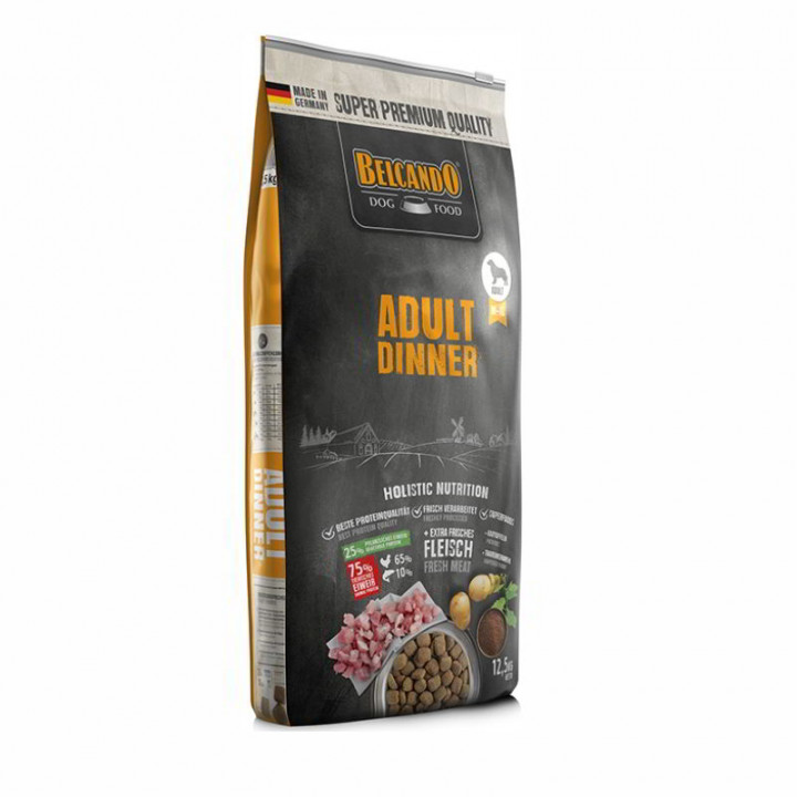 DOG FOOD BERCANDO - ADULT DINNER 12.5KG