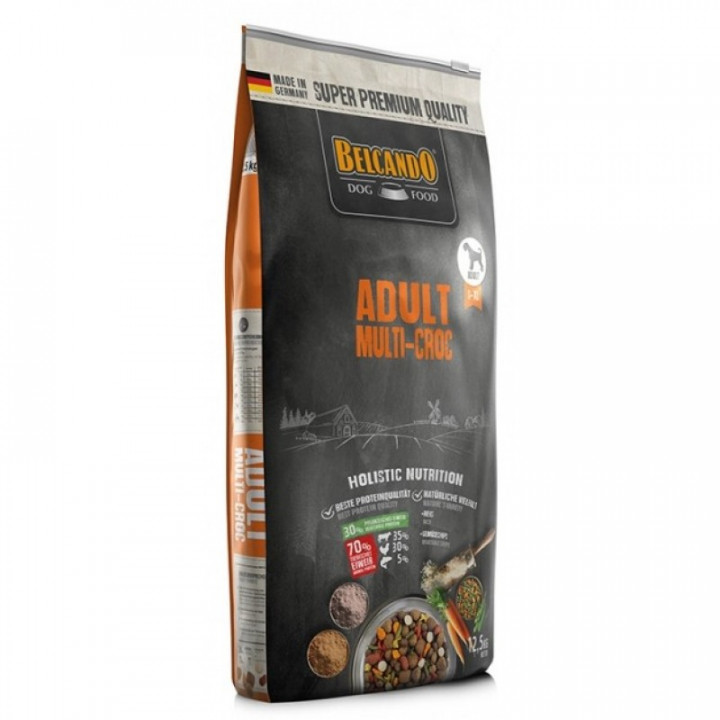 DOG FOOD BERCANDO - ADULT MULTI-CROC 12.5KG