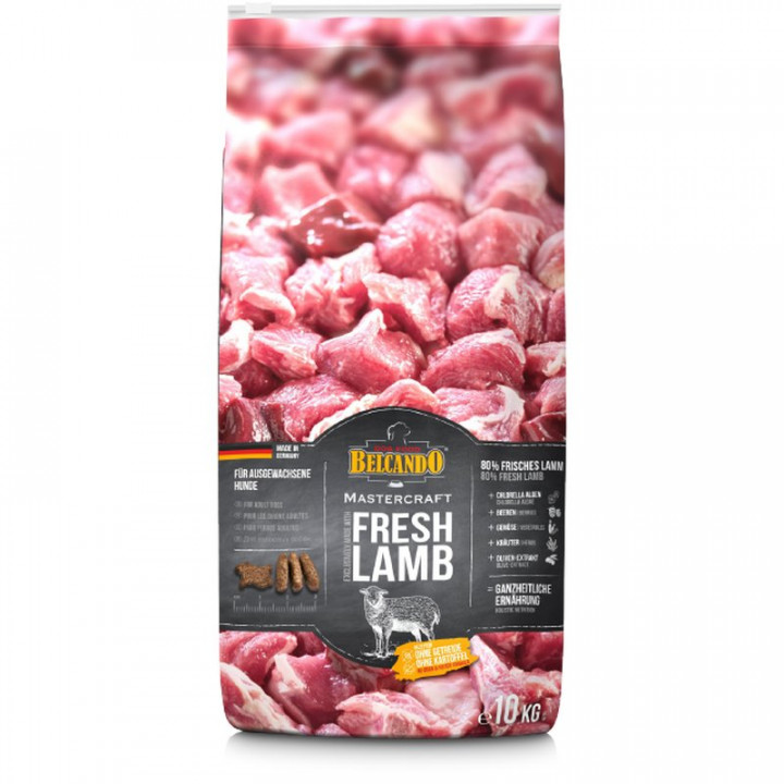 DOG FOOD BERCANDO - FRESH LAMB 10KG