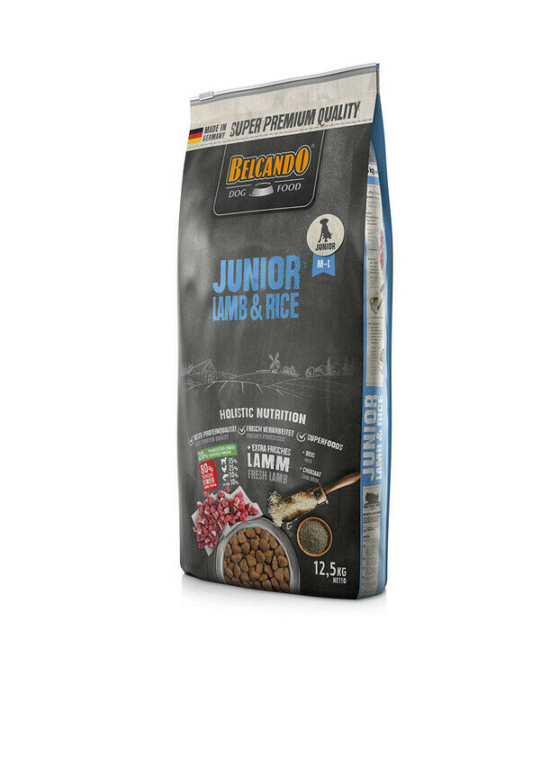 DOG FOOD BERCANDO - JUNIOR LAMD AND RICE 12.5KG